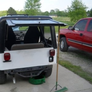 78 cj5 I have been working restoring   NC4x4